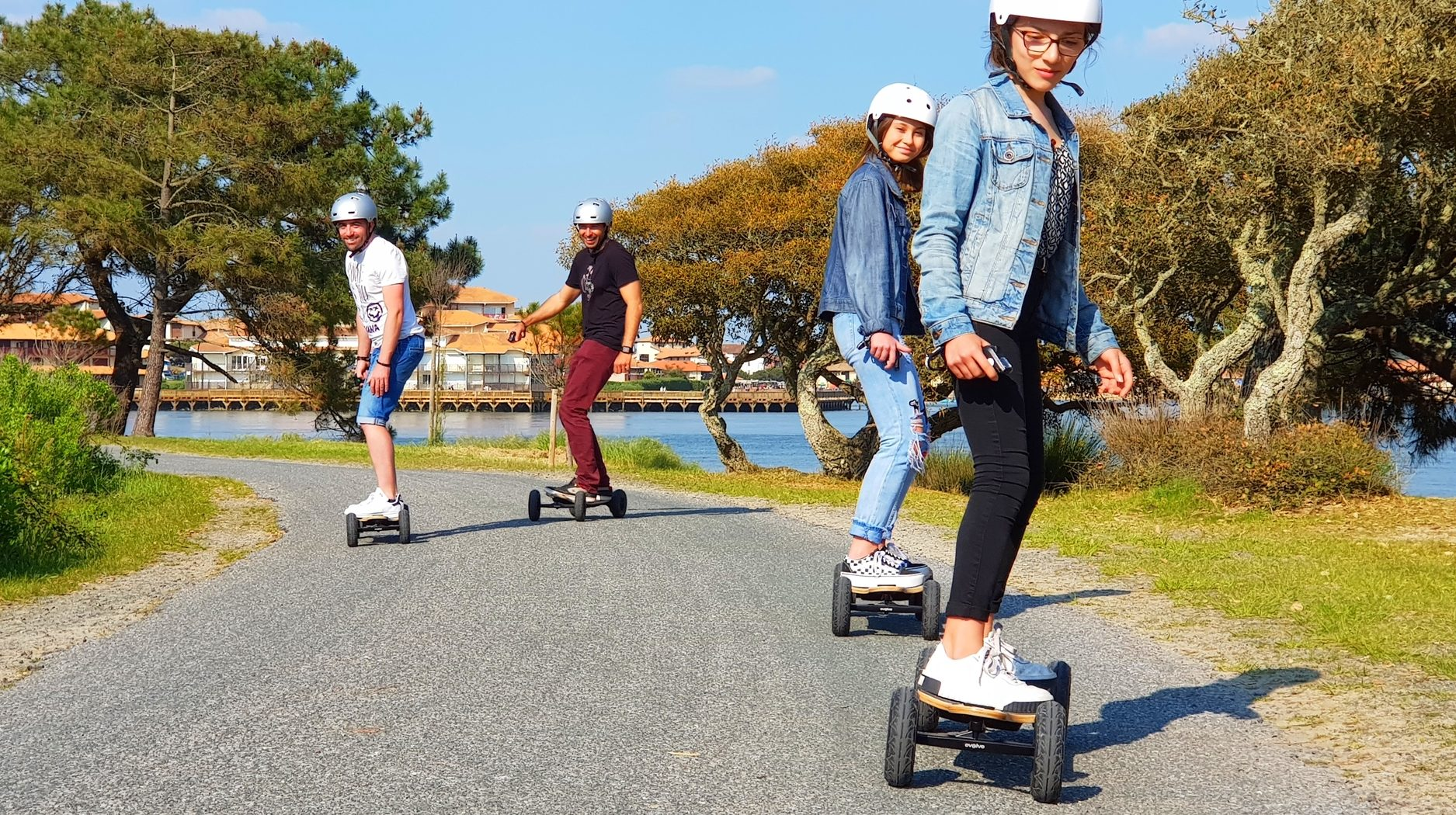 Skate électrique - image